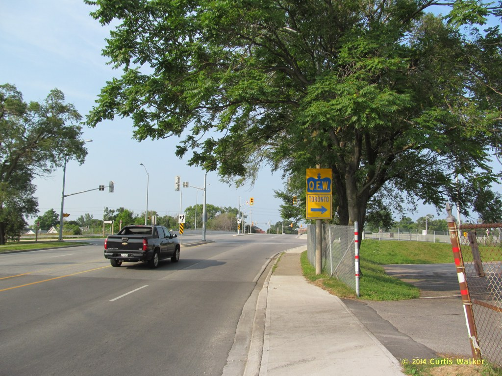 Ontario > QEW > St  Catharines - Ontario Street to Garden City Skyway