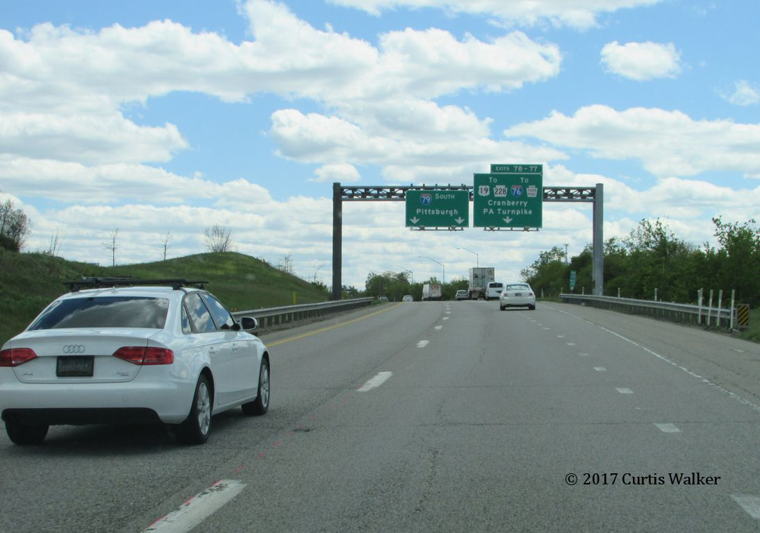 Pennsylvania > Interstate 79 > Evans City to PA Turnpike